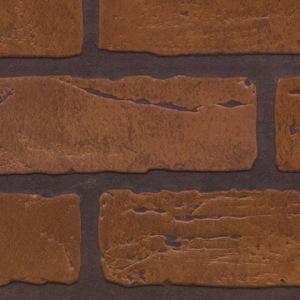 Панель стеновая листовая 288 Кирпич Красный Обоженный (Gaslightii)