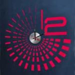 10А070 Часы (черный круг)