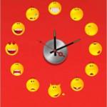 10А028 Часы (смайлики)
