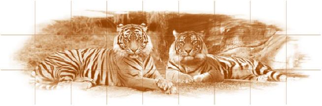 """Тигры """"терракота"""""""