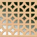Панель декоративная перфорированная Альберта бук