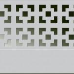 Экран декоративный перфорированный Виктория титан
