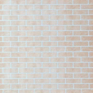 Панель стеновая листовая Кирпич желтый