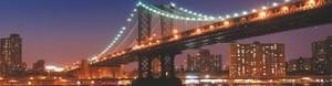 Кухонный фартук Бруклинский мост