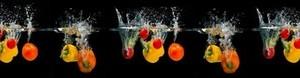 Кухонный фартук Овощи в воде