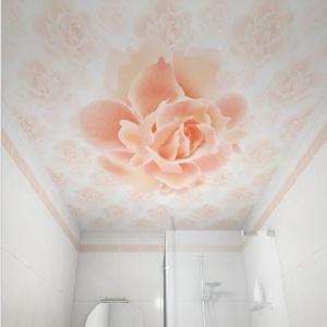 Потолок ПВХ декоративный Роза