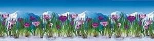 Кухонный фартук АВС Альпийская весна