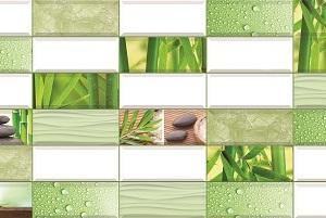 Панель пластиковая листовая Бамбук